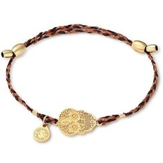 Alex and Ani Calavera Precious Threads Bracelet ($27) ❤ liked on Polyvore featuring jewelry, bracelets, gold, adjustable bangles, knot bangle, knot jewelry, alex and ani bangles and alex and ani jewelry