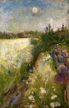 ~ Edvard Munch -  Veierland near Tonsberg ( Norway), 1887