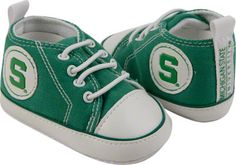Michigan State Spartans Infant Crawler Shoe