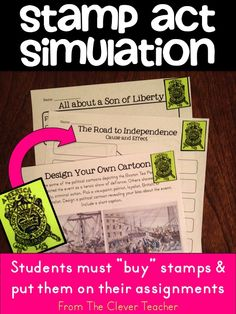 """When students EXPERIENCE """"taxation without representation"""", they gain a better understanding of historical events. For more ideas, see my 3 week-long Declaration of Independence Unit."""