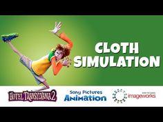 Hotel Transylvania 2 - Cloth Simulation - YouTube