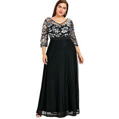Plus Size Floral Maxi Elegant Party Dresses Elegant Party Dresses 976d8c8ebcde