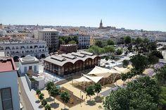 El #Mercado #Gourmet Lonja del Barranco, el nuevo espacio de restauración de #Sevilla, está formado por 20 puestos de diferentes especialidades gastronómicas.