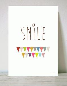 Lámina Smile - Menudos Cuadros