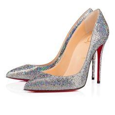 Women Shoes - Pigalle Follies Glitter Disco Ball - Christian Louboutin