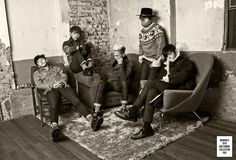 Promo pictures for Big Bang's 2015 Welcoming Collection due to be released March 25, 2015.  The collection will include:   DVD + Photo Book + Calendar + Bonus Materials