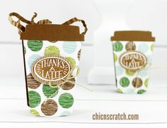 Coffee Cafe Box Featuring Coffee Cafe Bundle with Stampin' Up! Demonstrator Angie Juda
