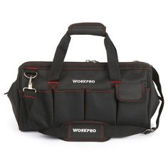 "21.69$  Buy now - ""18"""" Large Tool Bag 600D Polyester Waterproof Bag Pockets for tools Black Should Bag""  #bestbuy"