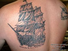 The Black Pearl Tattoo #TATTS #TATTOOS