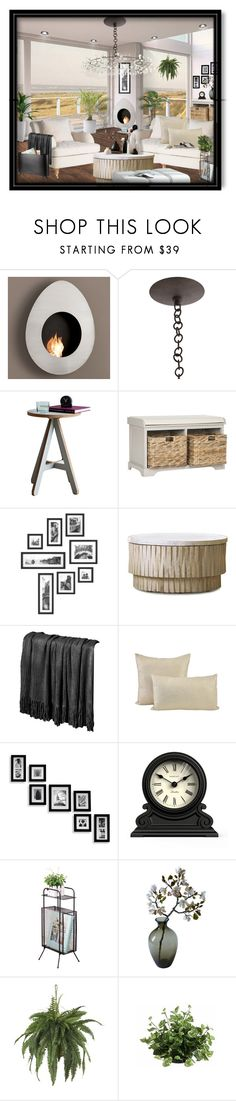 """Untitled #5490"" by julissag ❤ liked on Polyvore featuring interior, interiors, interior design, home, home decor, interior decorating, Safavieh, Jayson Home, Newgate and Nearly Natural"
