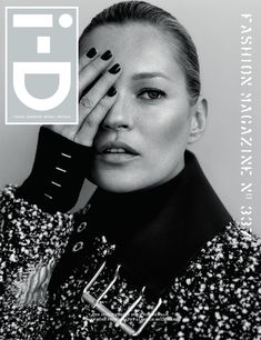 Kate Moss on i-D 35th anniversary cover