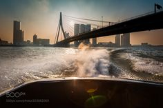 city travels by benny_b_streetphotography from http://500px.com/photo/203882069 - started my rotterdam trip parking my car and taking the watertaxi (you have got to try it out when you visit!) to get faster to the other part of town perfect start of day and through that beautiful light we saw it all fall in to place for the remainder of the day. More on dokonow.com.