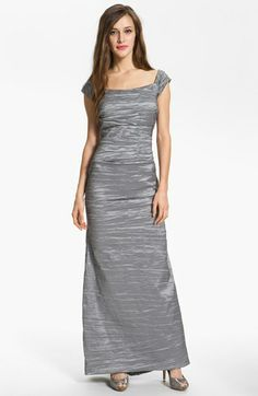 Alex Evenings Taffeta Mermaid Gown available at Nordstrom