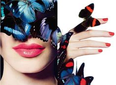 Butterfly Clad Beauty Editorials - The Chanel Summer 2013 L'ete Papillon (GALLERY)