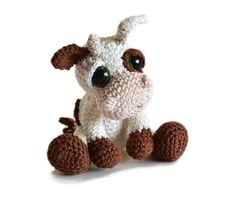 Vaquita crochet #crochet #ganchillo #manualidades