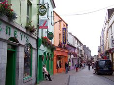 Galway, Ireland.   Where Jason and I met. Can't wait to go back for our 10 year next summer!!