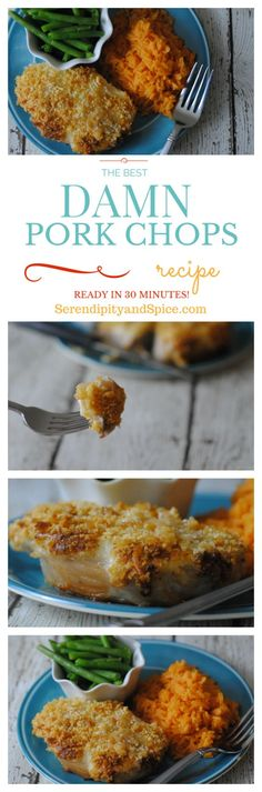 These pork chops are melt in your mouth amazing! The BEST pork recipe on Pinterest! ~ http://serendipityandspice.com: