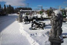 Kuva: KivaaTekemistä.fi Snow, Outdoor, Outdoors, Outdoor Living, Garden, Eyes