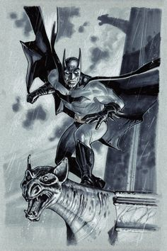 Batman Pre-done commission by Stephane Roux