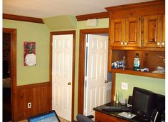 Knotty pine cabinets on pinterest knotty pine knotty pine kitchen and pine kitchen cabinets - Knotty pine cabinets makeover ...