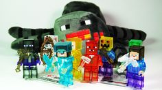 Майнкрафт. Игрушки лего фигурки из Майнкрафта
