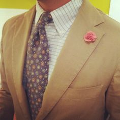 Around The Office: NM men's buyer Justin looking dapper