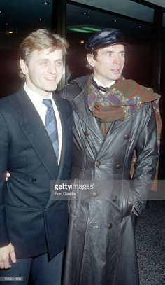 Mikhail Baryshnikov and Rudolf Nureyev during Capezio Dance Awards - May 1987 at Julliard Theater in New York City, New York, United States. (Photo by Ron Galella/WireImage) Margot Fonteyn, Ballet Boys, Male Ballet Dancers, Ballet Art, Deauville Festival, Rudolf Nurejew, Dance News, Dance Awards, La Bayadere