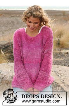 "Ravelry: 127-33 Sweater in ""Verdi"" pattern by DROPS design"