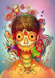 Various Illustrations 2 by Raul Urias, via Behance
