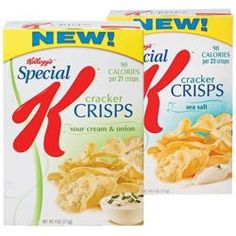 Special K Cracker Crisps Serving Size: 30 crisps 3 points+