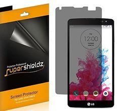 2X Supershieldz Privacy (Anti-Spy) Screen Protector Shield Saver For LG G Vista >>> Click image to review more details.