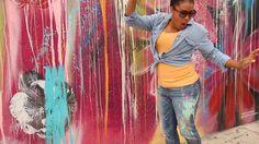 DIY Splatter Jeans