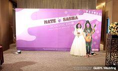 GUDY Wedding 婚禮設計 - 婚禮佈置♥艾美酒店*搖滾甜心派對