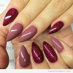 Red nails for fall are a must have, but did you know there's more than 5 shades of red shades you'll see it girls rocking this season? Find out here more