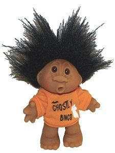 Image result for black troll doll