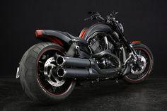 ROSDEE : [65] Harley Davidson 2012 VRSCDX 260 Wide Tire Custom image1