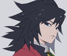 Demon Slayer( Kimetsu No Yaiba) Photo+memes - Giyu a.a our fav pillar - Wattpad Manga Anime, Anime Demon, Anime Guys, Anime Art, Demon Slayer, Slayer Anime, Demon Hunter, Fan Art, Online Anime