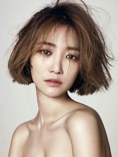 Go JoonHee #고준희 (Kim EunJoo 김은주) for L'Officiel Hommes Dec.2013 #단발머리 #여배우