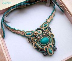 soutache necklaces - Google Search