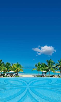 Paradis Hotel. Wonderful pool. Mauritius
