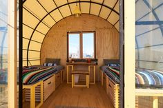 23 Best Glamping in California (2021) 24 California Places To Visit, Quonset Hut, Go Glamping, Sleeping Loft, Castle House, Peaceful Places, Private Room, Walk In Shower, Lodges