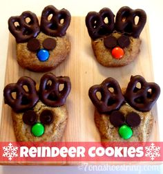 Reindeer Cookie Recipe Fun for Kids