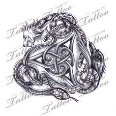 celtic triskilion