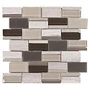 Viti Mix Brick Glass Mosaic