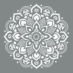 DecoArt Americana Decor 10 in. x 10 in. Mandala Stencil-ADS505-B - The Home Depot