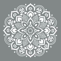 DecoArt Americana Decor Mandala Stencil-ADS505-B - The Home Depot