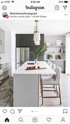 3 Key Kitchen Styling Tips from Ottawa Interior Design Firm Leclair Decor Interior Design Kitchen decor Design Firm interior Key Kitchen Leclair Ottawa styling Tips Modern Kitchen Design, Interior Design Kitchen, Home Design, Kitchen Designs, Kitchen Contemporary, Design Hotel, Contemporary Art, Contemporary Bar Stools, Transitional Kitchen