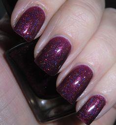 Glitter nail polish  Santa's Suit by Letitglitter on Etsy