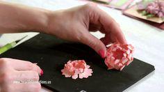 Heartfelt Creations Majestic Flower Shaping Part 1