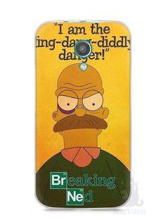 Capa Moto G2 Homer Simpson Breaking Bad - SmartCases - Acessórios para celulares e tablets :)